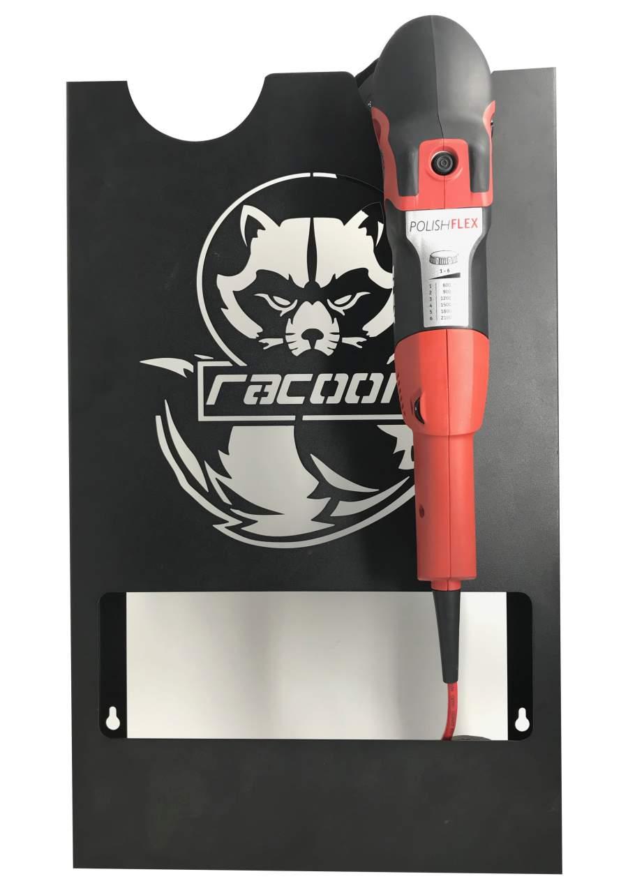 Racoon Fali tartó Polírozó géphez 2 gép számára