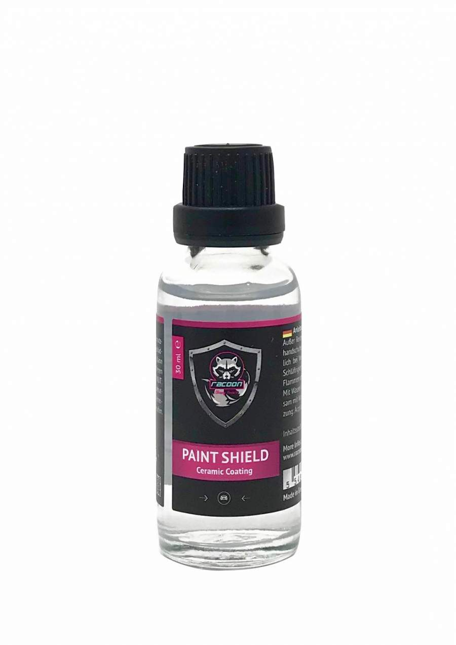 Racoon Paint shield