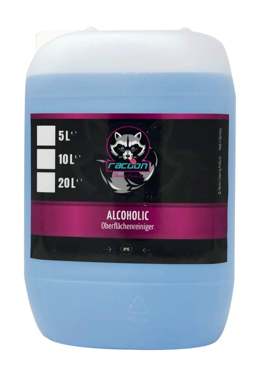 Alcoholic surface cleaner 5L