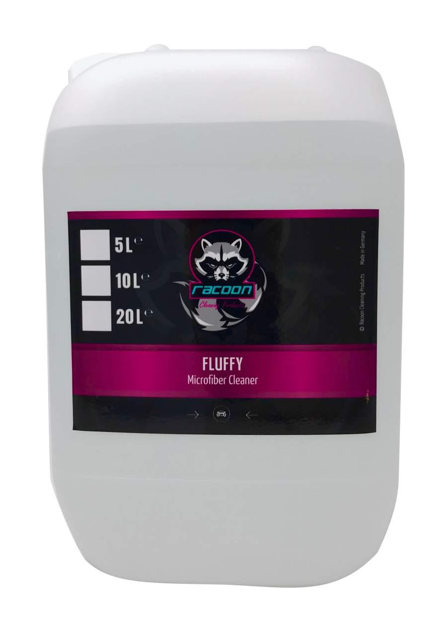 Racoon Fluffy 5L Mosófolyadék mikroszálas kendőhöz.